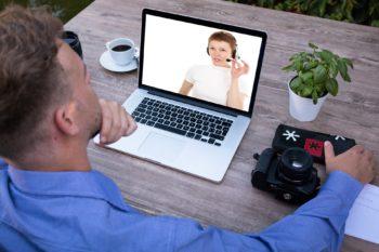 Nauka języka angielskiego online (Blended Learning) - Połączenie lekcji indywidualnych (wirtualna klasa) oraz dostępu do platformy online Multikurs bez ograniczeń