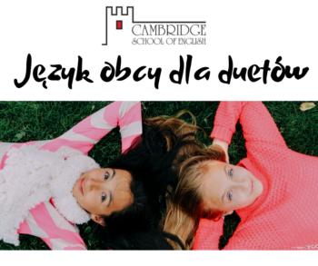 Wirtualna klasa - Język obcy dla duetów - zajęcia i lekcje językowe dla duetów Online