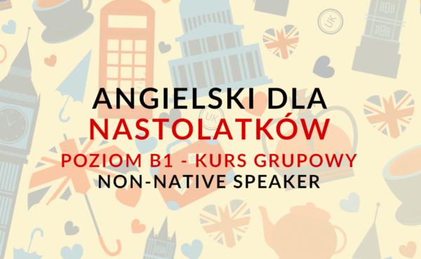 ANGIELSKI DLA NASTOLATKÓW nauka angielskiego online z lektorem polskim