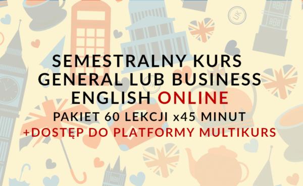 SEMESTRALNY KURS GENERAL LUB BUSINESS ENGLISH ONLINE