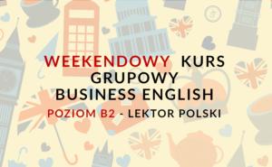 KURS BUSINESS ENGLISH WARSZAWA
