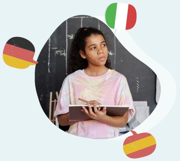 kurs języka włoskiego, chińskiego, japońskiego, rosyjskiego, angielskiego, polskiego warszawa i online