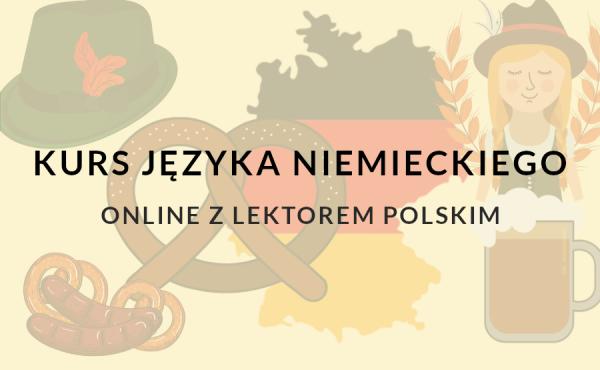 Nauka niemieckiego online z lektorem polskim w szkole językowej w warszawie.